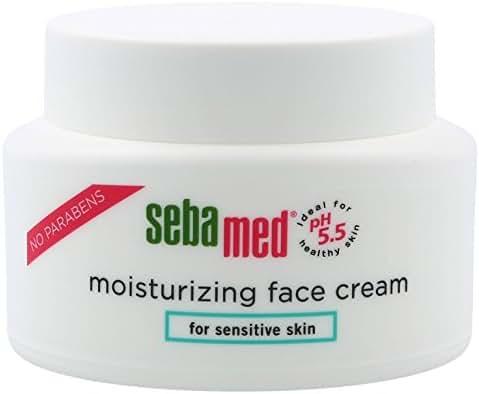 Sebamed Moisturizing Face Cream for Sensitive Skin Antioxidant pH 5.5 Vitamin E Hypoallergenic 2.6 oz ( 75g) Ultra Hydrating Dermatologist Recommended