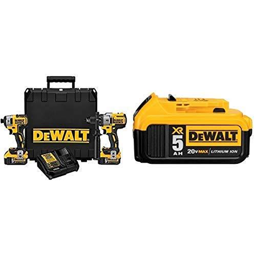 DEWALT DCK299P2 20V MAX XR 5.0Ah Premium Cordless