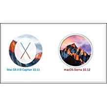 Dual Boot Mac OS X El Capitan 10.11 and Sierra 10.12 Full Version on Bootable 16GB USB Flash Drive for Installation or Upgrade