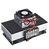 Semiconductor Refrigeration, 8A 12V 100W DIY Pet Space Cooling Used for DIY Pet Space Cooling,Homemade Air Conditioning,Cabinet Cooling
