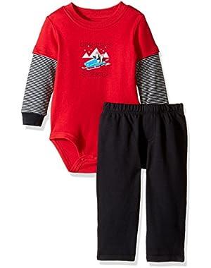 Carter's Baby Boys' 2 Piece Bodysuit Set (Baby)
