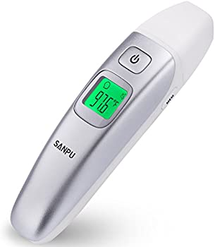 Sanpu Digital Medical Infrared Forehead & Ear Thermometer
