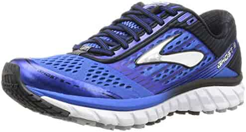 Brooks Men's Ghost 9 Electric Brooks Blue/Black/Silver Sneaker