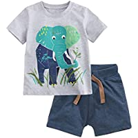 Fiream Baby Boy's Cotton Outfits 2 Pieces Clothing Set