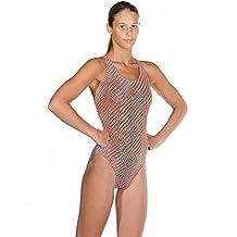 Head Liquid Last Camo UV Ray Protection Fashionable Swimsuit, Women's