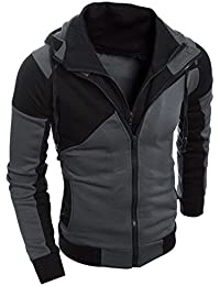 Big Promotion! ❤️Mens Retro Long Sleeve Hoodie Hooded Sweatshirt Tops Jacket Coat Outwear (