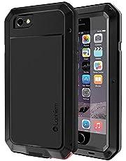 Lanhiem Coque iPhone 6S, Coque iPhone 7, [Rugged Armor] [Antichoc]