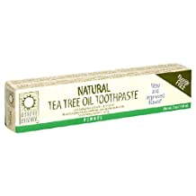Natural Tea Tree Oil Toothpaste with Fennel by Desert Essence - 7 oz