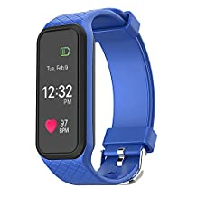 Fitness Tracker Waterproof,Nasion.V L38i Large Screen Heart Rate Monitor Smart Watch,Activity Tracker Bracelet,Exercise Walking Pedometer Swimming Wristband for Android and Apple Smart Phone
