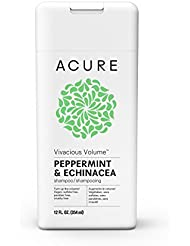 ACURE Vivacious Volume Peppermint Shampoo, 12 Fl. Oz. (Packaging May Vary)