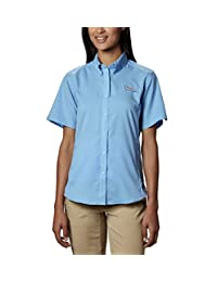 Columbia Women's Tamiami II Short Sleeve Shirt, UPF 40 Sun Protection