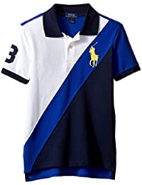 Boys Big Pony Colorblock Polo Shirt