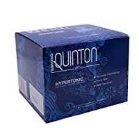 Original Quinton Hypertonic - Concentrated Pure Seawater Electrolyte Liquid Minerals Supplement for Hydration, Muscle Recovery + Energy Support, Electrolyte Drink with Trace Minerals (30 Vials)