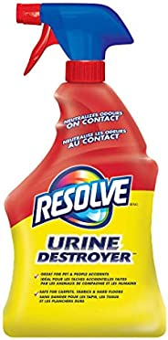 Resolve, Urine Destroyer, 946ml, Clean & Neutralizes Odours on Carpet, Fabric &