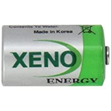 1/2AA Size Lithium Batteries (3.6V & 1200 mAh), 4 pack