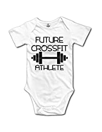 Infant Future CrossFit Athlete Cute Baby Onesie Bodysuit