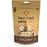 Dogsee Crunch Single Ingredient Training Treats (Coconut)
