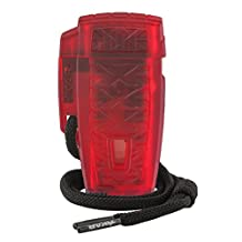Xikar Stratosphere High Altitude Windproof Butane Lighter Red