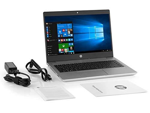 "HP High Performance Probook 14"" Business Laptop, Intel 8th Gen i5-8250U Quad-core, 256GB SSD, 8GB RAM, 802.11ac Wireless, USB C, HDMI/VGA , Bluetooth, Ethernet, Only 3.6 lbs, Windows 10 Pro"