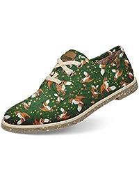 Sapato Usthemp Legend Vegano Casual Estampa Fox