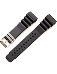 HDT Bonetto Cinturini Rubber Material Divers Strap Model 286 [24mm]