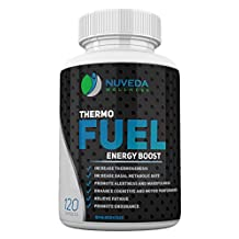 Thermo Fuel Thermogenic Fat Burner & Weight Loss Supplement for Energy Boost and Fat Loss - 120 count