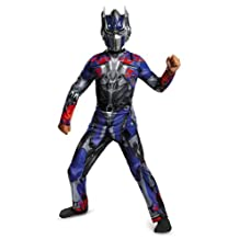 Disguise Hasbro Transformers Age of Extinction Movie Optimus Prime Classic Boys Costume, Large/10-12