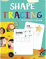 Shape Tracing and Coloring Practice Workbook for Preschoolers to 3rd Grade: Ages 3+ and weekly FREE Bonuses