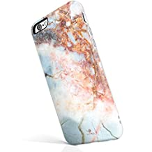 iPhone 6 Plus / 6s Plus case marble, Akna® New Glamour Series Flexible Soft TPU cover with Fabulous Glossy Pattern for both iPhone 6 Plus & iPhone 6s Plus [Cyan Marble](44-C.A)