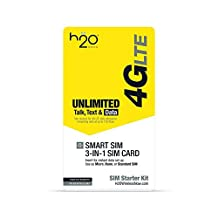 H2o 3-in-1 SIM Card - 3 Pack