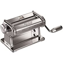 Marcato Atlas Pasta Dough and Clay Roller, 8340, Made in Italy, Includes 150-Millimeter Roller with Hand Crank and Instructions