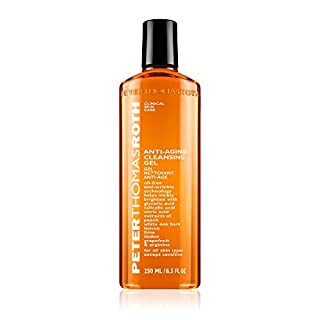 Anti-Aging Cleansing Gel, Face Wash with Anti-Wrinkle Technology, Exfoliates with Glycolic Acid and Salicylic Acid