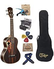 23-inch Concert ukulele Rosewood professional Hawaii Concert Ukuleles send tuner Gig Bag Full set Ukelele accessory for Kids Adult