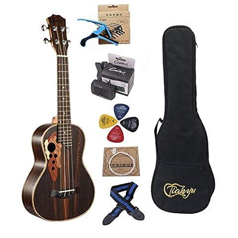 23-inch Hawaii ukulele rosewood professional concert Ukulele - Sale: $65.44 USD (15% off)