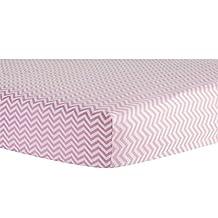 Trend Lab Crib Sheet, Pink Chevron