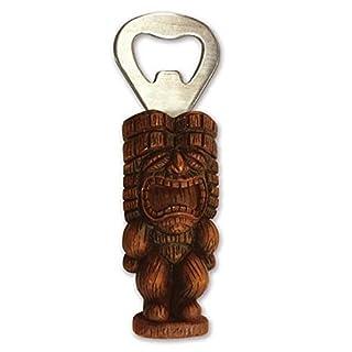 Hawaiian Tiki Bottle Opener with Magnet