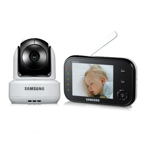 samsung sew 3036w babyview baby monitoring system ir night vision. Black Bedroom Furniture Sets. Home Design Ideas