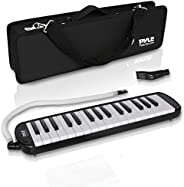Pyle Professional Mouth Piano Melodica Instrument - Mouth Keyboard Piano Organ Melodica Set with Mouthpiece, B