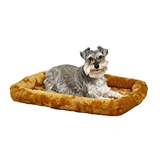 """MidWest Homes for Pets Quiet Time Pet Bed, Cinnamon, 30"""" x 21"""" (277188)"""