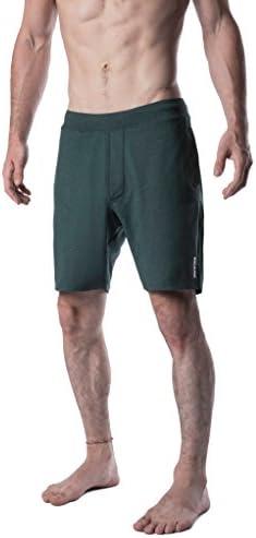 [Patrocinado] Yoga Crow Swerve, pantalones cortos para hombre con revestimiento interno resistente a olores