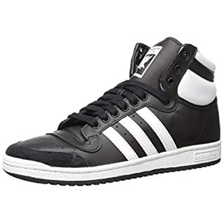 adidas Originals Men's Top Ten Hi Sneaker, core Black/FTWR White/core Black, 10 M US