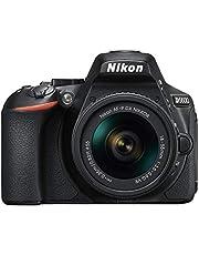 Nikon D5600 + AF-P 18-55 VR Kit de Reflex numérique 24,2 Mpix Noir