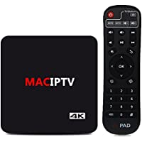 MACOBOX IPTV Android TV Box 8 Core H.265 4K Satellite TV UBox Unlocked Oversea Version with 1500+ Global Live Channels With Chinese HK Korea Taiwan Japanese Asian TV Channels