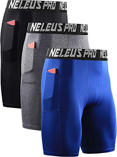 Neleus Men's 3 Pack