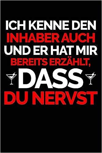 Du Nervst Notizbuch Für Barkeeper Barkeeper In Bartender In Bar Frau Notizbücher Und Geschenkideen Bartender Barkeeper Bücher