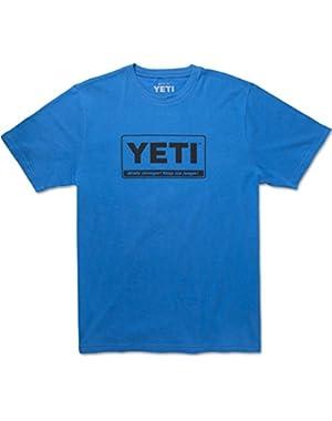 Men's 100% Cotton Billboard T-Shirt, Short Sleeve