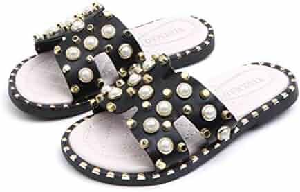 113c50bc7 Children Toddler Flip Flop Sandals Garden Shoes Pearl Beach Sandals  Princess Casual Shoes Memela