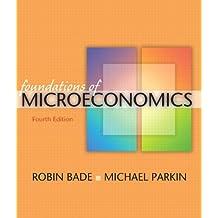 Amazon michael parkin microeconomics economics books foundations of microeconomics 4th edition fandeluxe Gallery