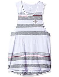 Men's Cotton Jersey Striped Tank