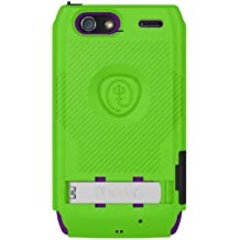 Trident Case BYOC-XT912-TG/PP Build Your Own KRAKEN A.M.S. Case for Droid Razr Maxx - Retail Packaging - Green/Purple